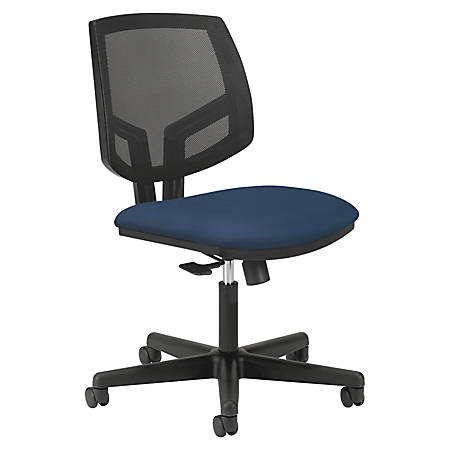 HON® Volt Seating Mesh Mid-Back Tilt Task Chair, Navy/Black