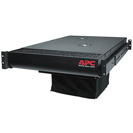 APC by Schneider Electric ACF002 Rack Air Distribution System - 420 CFM - Rack-mountable - Black - IT - Black - 2U - 230 V AC - 230 W