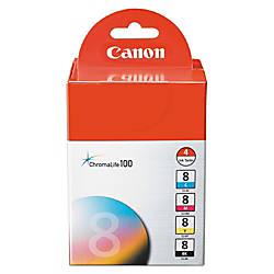 Canon CLI 8 ChromaLife 100 BlackColor