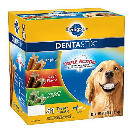 Pedigree Dentastix Treats, Variety Pack Of 51