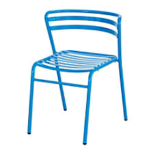 Safco CoGo IndoorOutdoor Chair Blue Set