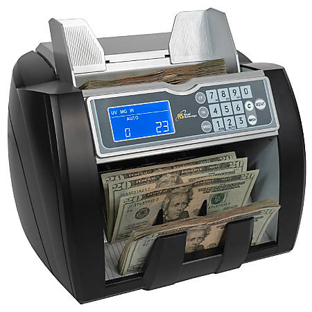 Royal Sovereign (RBC-5000) High-Speed Bill Counter with Ultraviolet (UV), Infrared (IR) and Magnetic (MG) Counterfeit Detection System