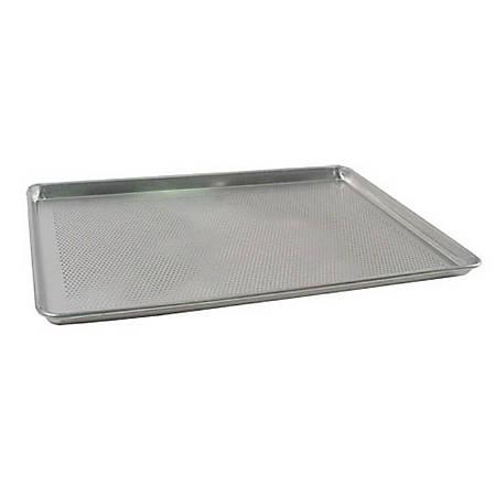 "Winco Full-Size Aluminum Sheet Pan, 1""H x 17-7/8""W x 25-5/8""D, Silver"