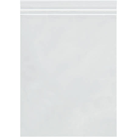"""Office Depot® Brand 4-Mil Double-Track Reclosable Poly Bags, 12"""" x 15"""", Case Of 500"""