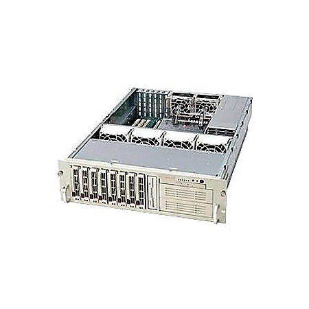 Supermicro SC833S-R760 Chassis - Rack-mountable - Beige
