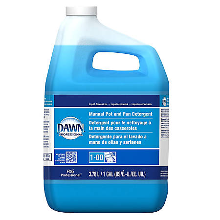 Dawn® Dishwashing Liquid, Original Scent, 1 Gallon, Carton Of 4