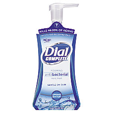 Dial Complete Foaming Antibacterial Hand Soap