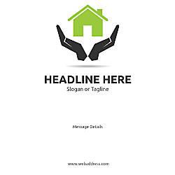 Custom Poster House in Safe Hands