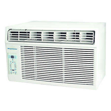 Keystone KSTAW06C Window Air Conditioner - Cooler - 1758.43 W Cooling Capacity - 250 Sq. ft. Coverage - Yes - Mesh - Yes