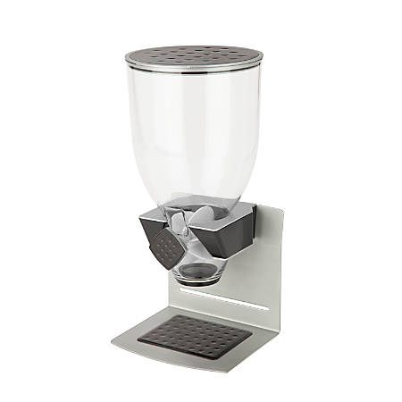 Zevro Premium Designer Edition Single Dispenser, 17.5 Oz, Black/Silver