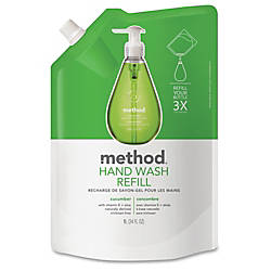 Method Cucumber Gel Hand Wash Refill