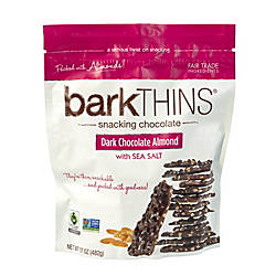 barkTHINS Dark Chocolate Almond With Sea