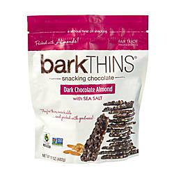 barkTHINS Dark Chocolate Almond With Sea