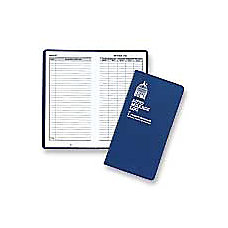 Dome Auto Mileage Log Vinyl Cover