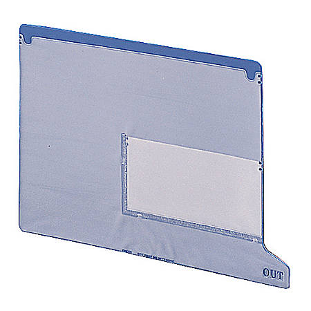 """Smead® Straight Cut 1"""" Expansion End Tab Folders, Gray/Green, Box Of 25"""