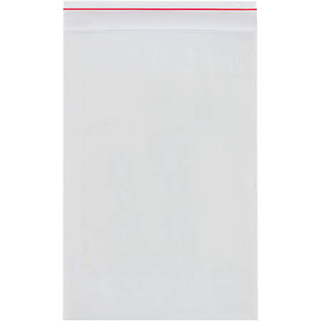 """Mini-Grip 2-Mil Reclosable Poly Bags, 6"""" x 10"""", Case Of 1,000"""