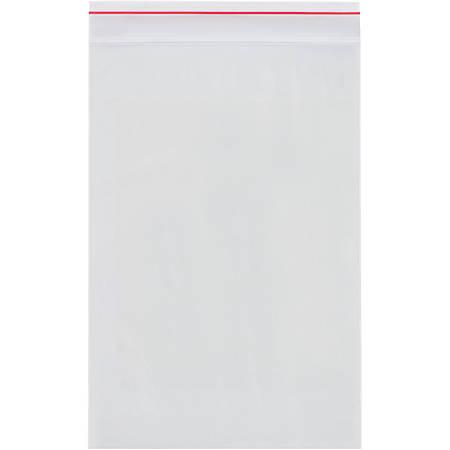 "Minigrip® 4-Mil Reclosable Poly Bags, 12"" x 15"", Case Of 500"