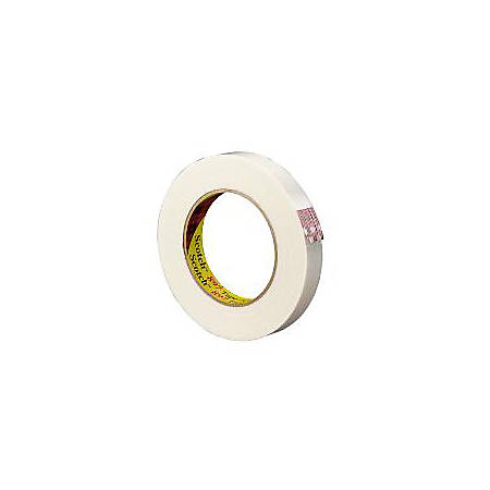 """3M® 897 Strapping Tape, 3/4"""" x 60 Yd., Clear, Case Of 12"""