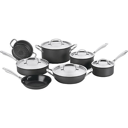 "Conair GreenGourmet GG-12 Cookware Set - Skillet 8"" Diameter, Deep Frying 10"" Diameter, Saucepan 1.5quart Diameter, Pan 3quart Diameter, Dutch Oven 6quart Diameter, Steamer Insert Diameter"