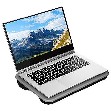 "LapGear Compact Lap Desk, 10"" x 13-3/4"", Charcoal"
