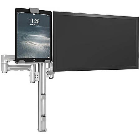"""Atdec AC-AP-UTH - Mounting component (holder) for tablet - plastic - black - screen size: 7""""-12"""" - mounting interface: 100 x 100 mm - arm mountable"""
