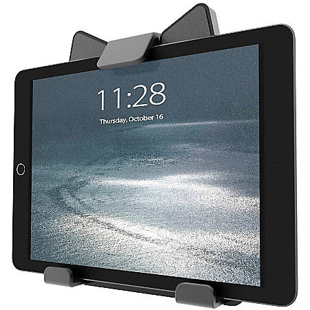 "Atdec Universal Tablet Holder - 8.3"" x 7"" x 1.8"" x - Rubber, Plastic - Black"