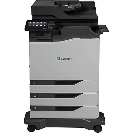 Print Lexmark CX820dtfe Laser Multifunction Printer Color