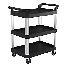 Suncast Commercial 3 Shelf Service Cart