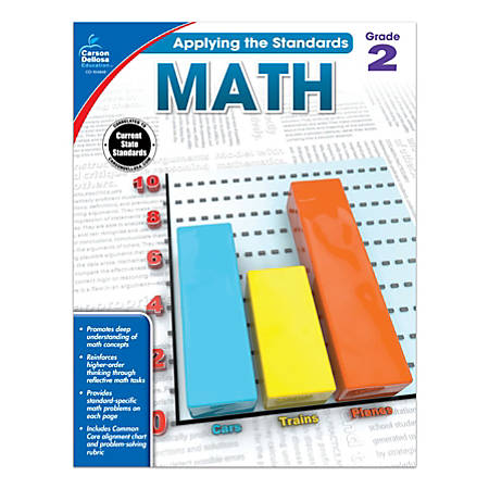 Carson-Dellosa™ Applying The Standards Math Workbooks, Grade 2