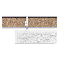 Advantus Cork Map Rails 1 x