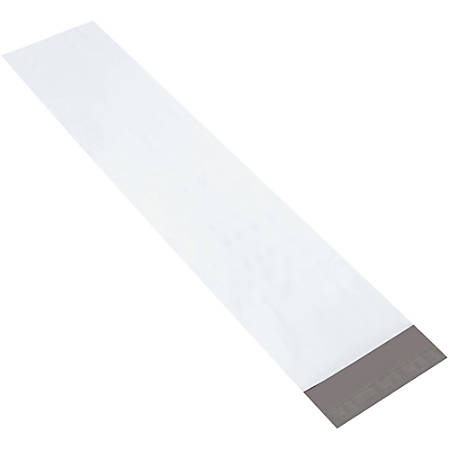 "Partners Brand Long Poly Mailers 8 1/2"" x 39"", Pack of 100"