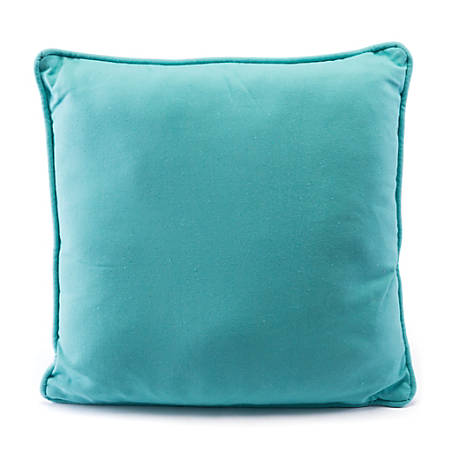 Zuo Modern Canvas Pillow, Turquoise