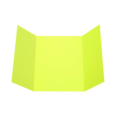 """LUX Gatefold Invitation Envelopes, A7, 5"""" x 7"""", Wasabi, Pack Of 500"""