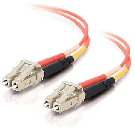 C2G-7m LC-LC 50/125 OM2 Duplex Multimode Fiber Optic Cable (TAA Compliant) - Orange - Fiber Optic for Network Device - LC Male - LC Male - 50/125 - Duplex Multimode - OM2 - TAA Compliant - 7m - Orange