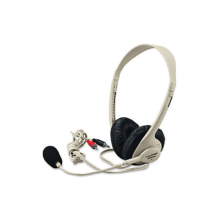 Califone® 3064 Series Multimedia Stereo Headset, Beige, CII3064AV