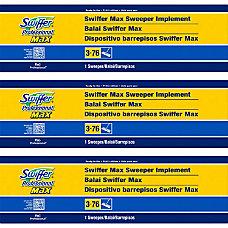 Swiffer Max Sweeper 17 MicroFiber Head