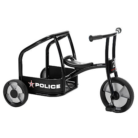 """Winther Circleline Tricycle, 24 1/16""""H x 23 1/4""""W x 39 13/16""""D, Black"""