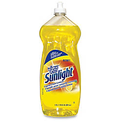 Sunlight Liquid Dish Cleaner Concentrate Liquid