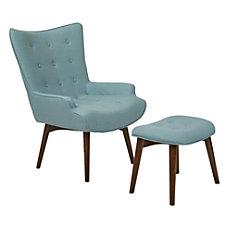 Ave Six Dalton Chair With Ottoman