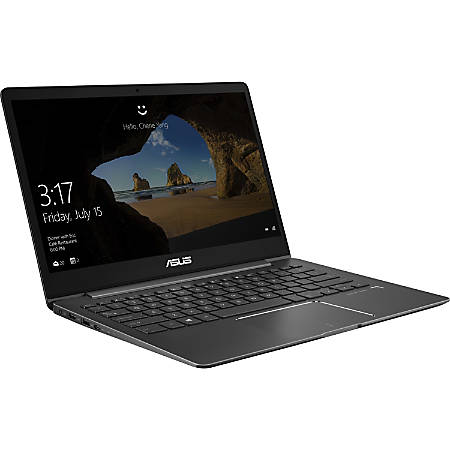 "Asus ZENBOOK UX331FN-DH51T 13.3"" Touchscreen Notebook - 1920 x 1080 - Core i5 i5-8265U - 8 GB RAM - 256 GB SSD - Slate Gray - Windows 10 64-bit - NVIDIA GeForce MX150 with 2 GB - Bluetooth"