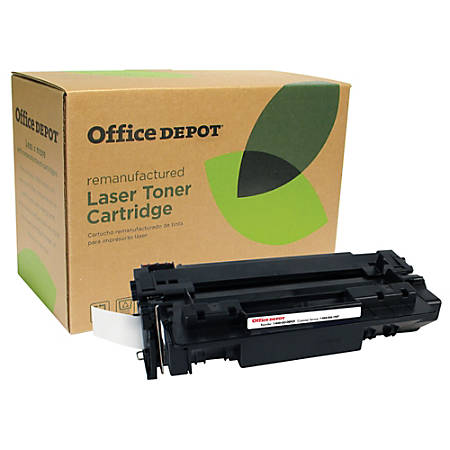 Office Depot® Brand 11A Remanufactured Toner Cartridge Replacement For HP 11A Black