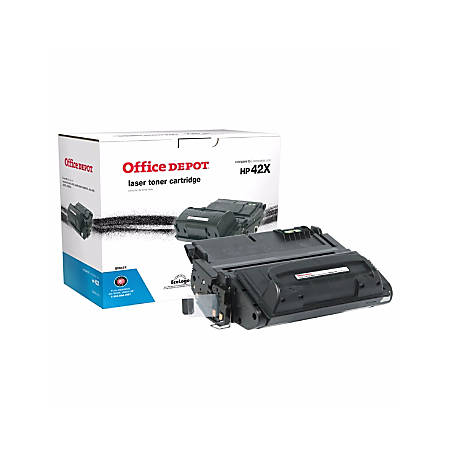 Office Depot® Brand 42X (HP 42X) Remanufactured High-Yield Black Toner Cartridge