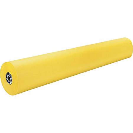 "Pacon® Rainbow Duo-Finish Kraft Paper Roll, 36"" x 1000', Yellow"