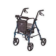 Medline Deluxe Comfort Rollator 8 Wheels