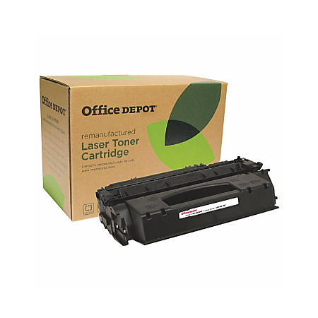 Office Depot® Brand Q49X Remanufactured High-Yield Toner Cartridge Replacement For HP 49X Black