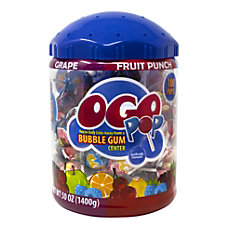 Original Gourmet OGO 100 Piece Bubblegum