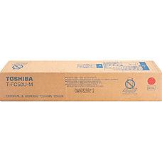 Toshiba TTFC50UM Magenta original toner cartridge
