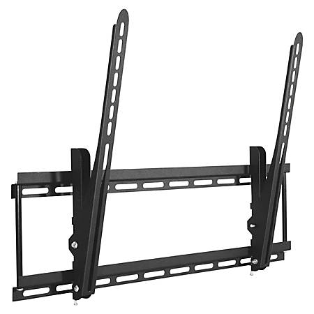 """Lorell Mounting Bracket for TV - Black - 42"""" to 90"""" Screen Support - 150 lb Load Capacity"""