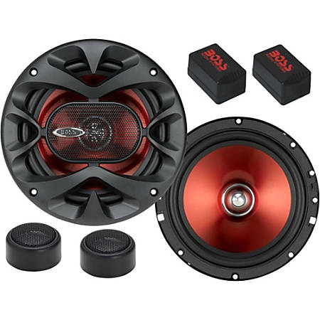 "BOSS AUDIO CH6CK Chaos Exxtreme 6.5"" 2-way 350-watt Component Speakers"