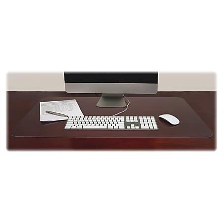 """Lorell Matte-finish Rectangular Desk Pads - Rectangle - 36"""" Width x 20"""" Depth - Polyvinyl Chloride (PVC) - Matte"""